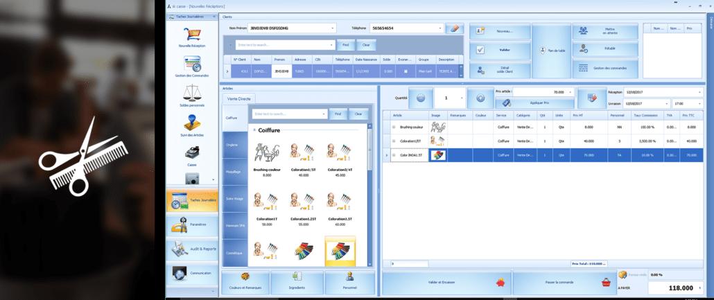 Exemple de configuration Askcaisse
